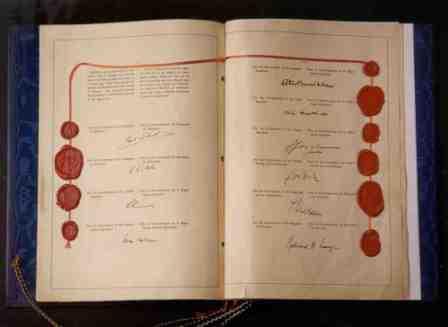 Potpisi pri usvajanju Konvencije