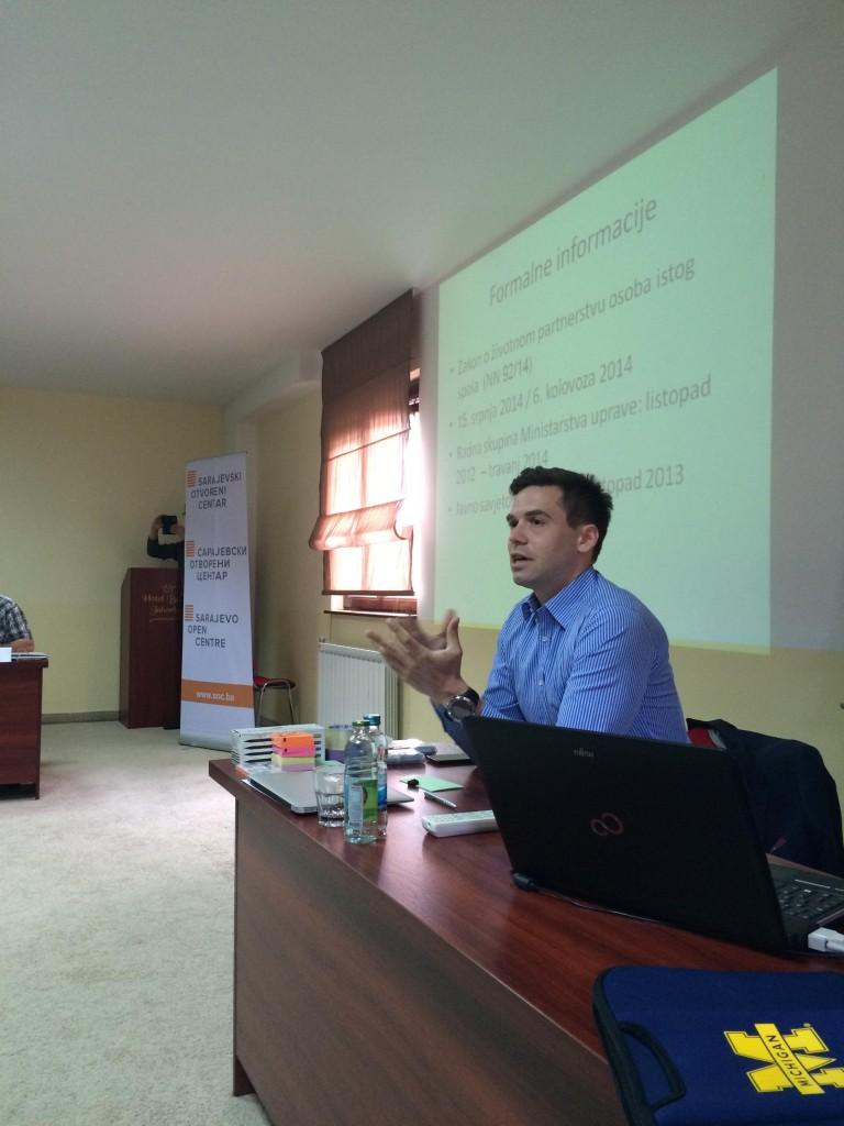 Goran Selanac, zamjenik pravobraniteljice za ravnopravnost spolova Republike Hrvatske